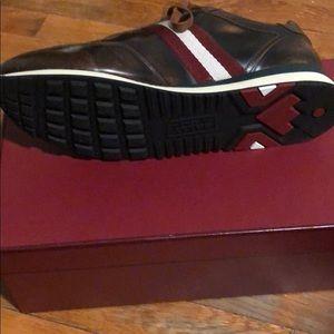 7d4bdb8d82a8a9 Bally Shoes - Bally Aston caramel 18 bull brushed sneaker